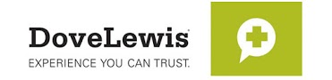 Dove Lewis logo, links to site